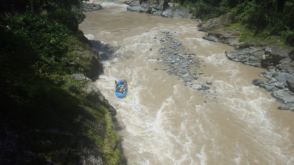 Rafting on the Pacuare River, Costa Rica